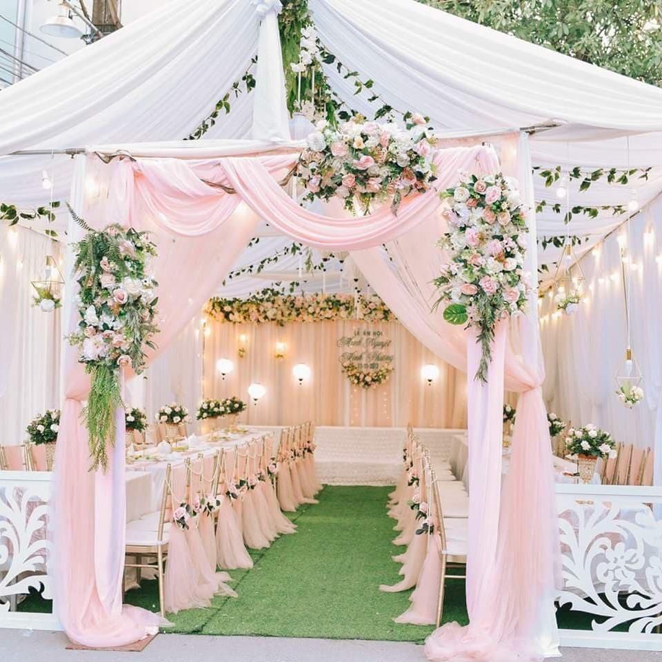 Cho thuê nhà bạt đám cưới – dựng rạp cưới