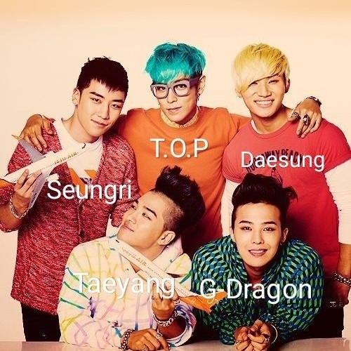 Seungri thành viên của BIGBANG