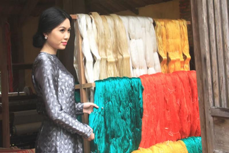 Tơ tằm Lam Giang silk