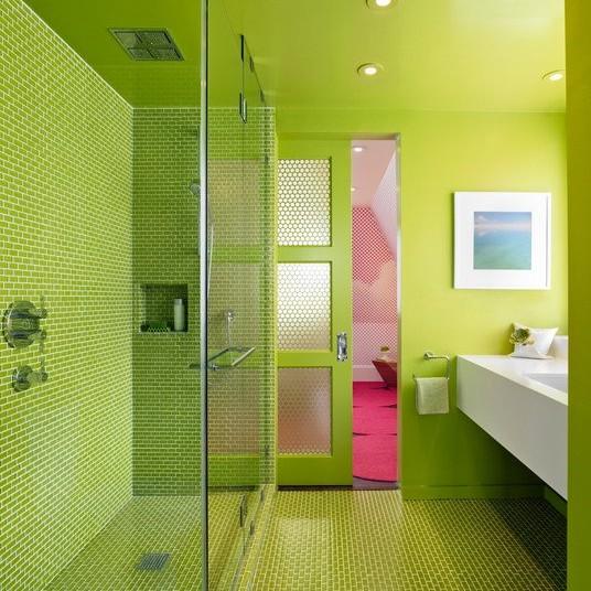 Phòng tắm tinh nghịch
