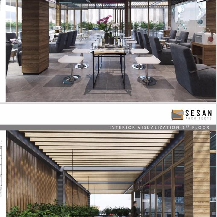 Thiết kế không gian quán cafe sáng tạo với phần mềm 3Ds Max