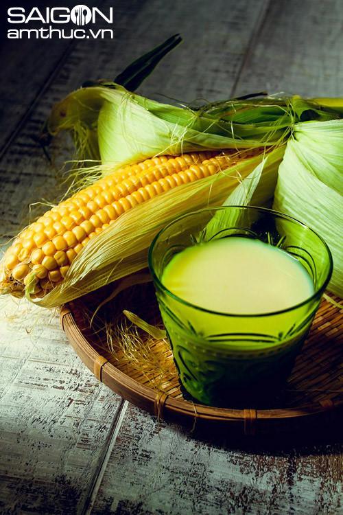 Cách làm sữa ngô ngon sánh mịn bổ dưỡng  tại nhà