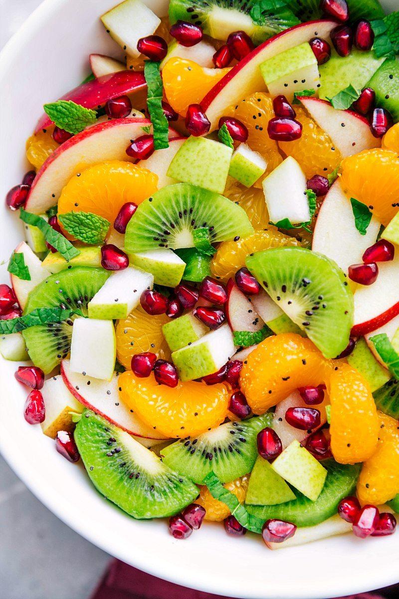 Cách làm salad hoa quả vừa ngon vừa thanh mát