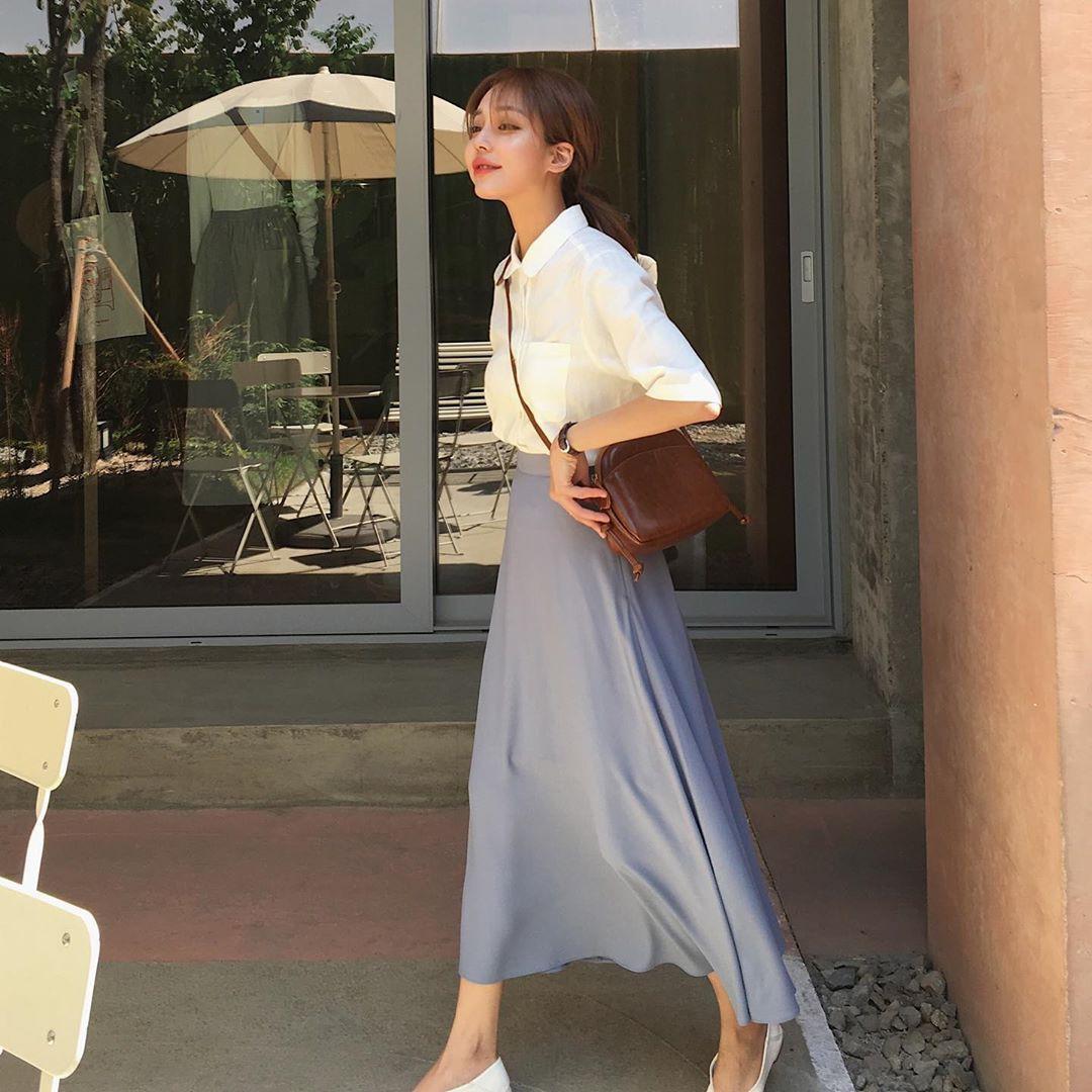 Street style Châu Á: Toàn tập là màu trắng, bộ nào bộ nấy đều đẹp và dễ mặc