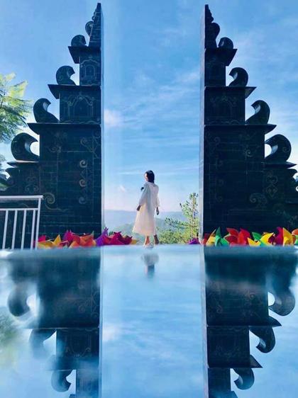 'Cổng trời Bali' lần đầu xuất hiện ở Đà Lạt - VnExpress Du Lịch