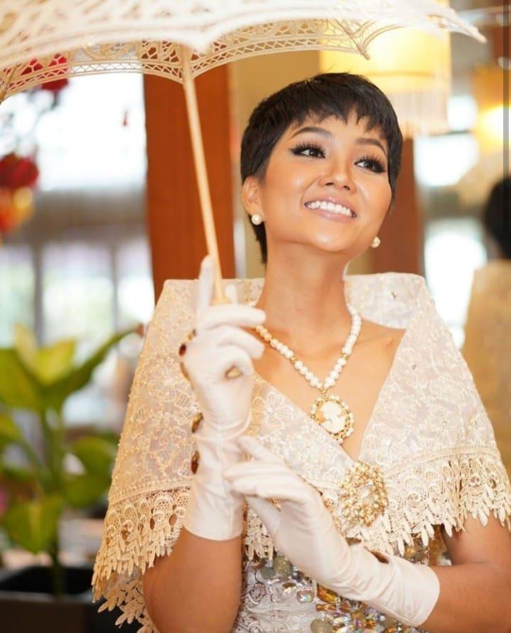 """H""""Hen Niê diện trang phục truyền thống Philippines, CĐM: """"Không hổ danh Hoa hậu đẹp nhất hành tinh"""""""