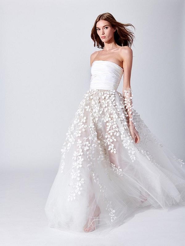 """""""Mãn nhãn"""" với bộ sưu tập váy cưới mới nhất 2019 của thương hiệu Oscar De La Renta - Tin trong ngày"""