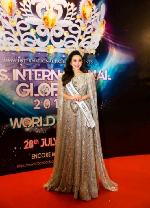 Người đẹp Vivian đăng quang Mrs International Global