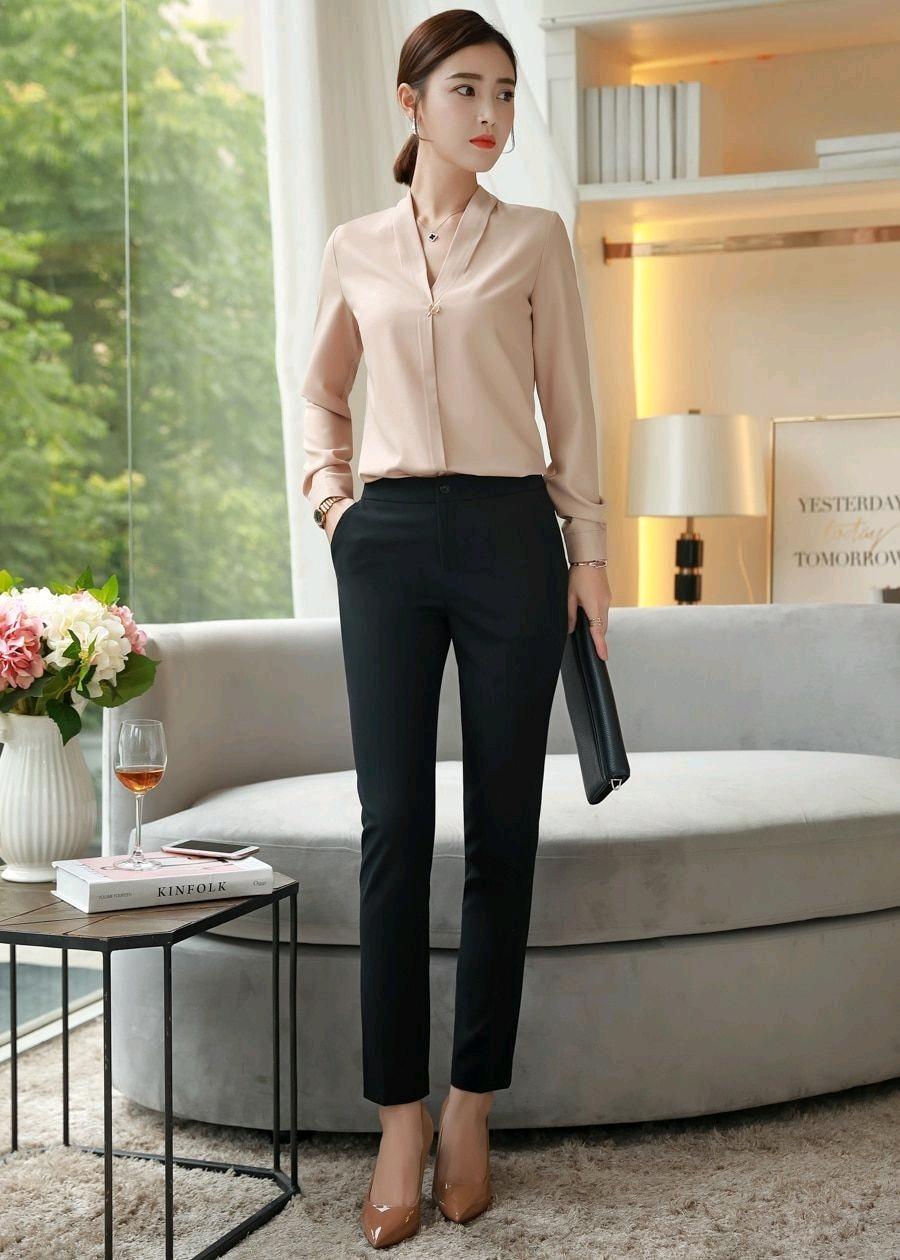 7 Ngày mặc đẹp với style công sở cho những cô nàng văn phòng - Shopee Blog