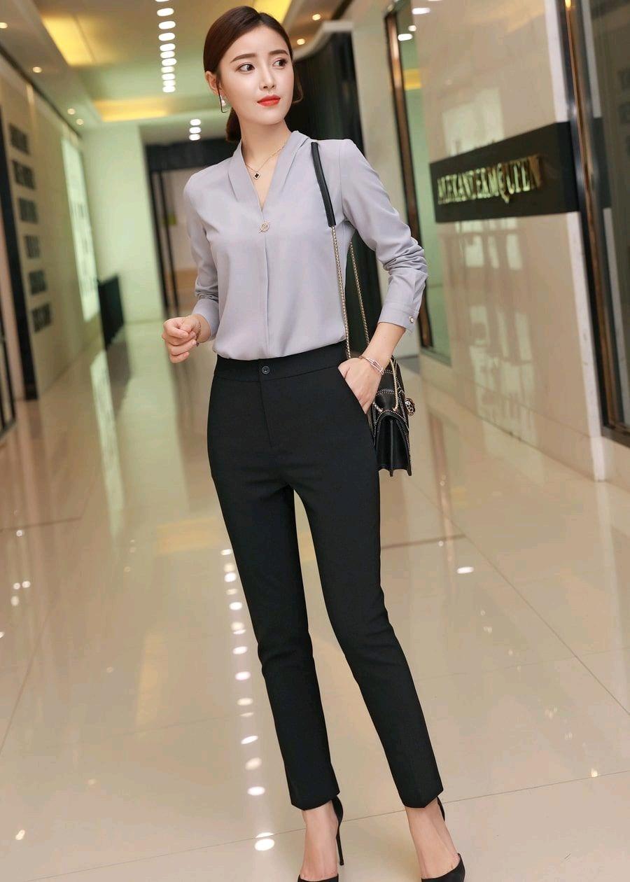Bỏ túi các kiểu quần tây nữ dành cho cô nàng công sở - BlogAnChoi