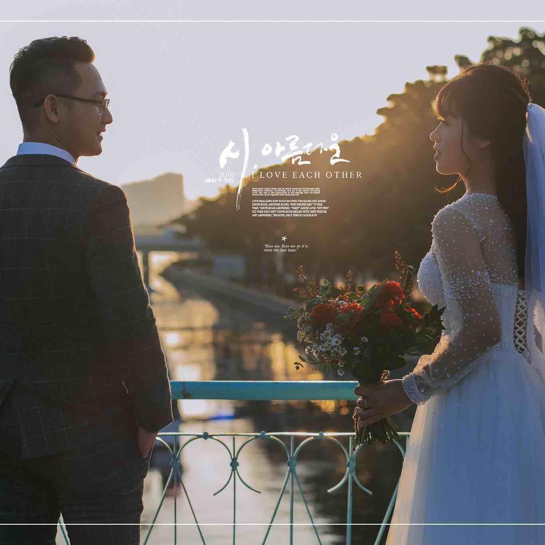 [HÉ LỘ] Các kiểu chụp ảnh cưới ngoại cảnh đẹp ấn tượng