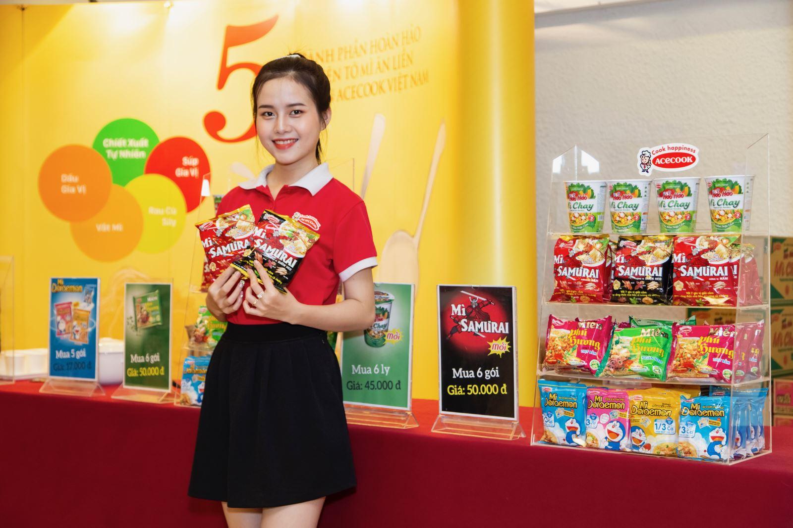 Mì Samưrai - bước đột phá mới của Acecook Việt Nam