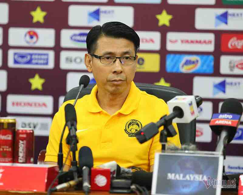 HLV Tan Cheng Hoe: 'Việt Nam rất mạnh, nhưng Malaysia sẽ thắng'