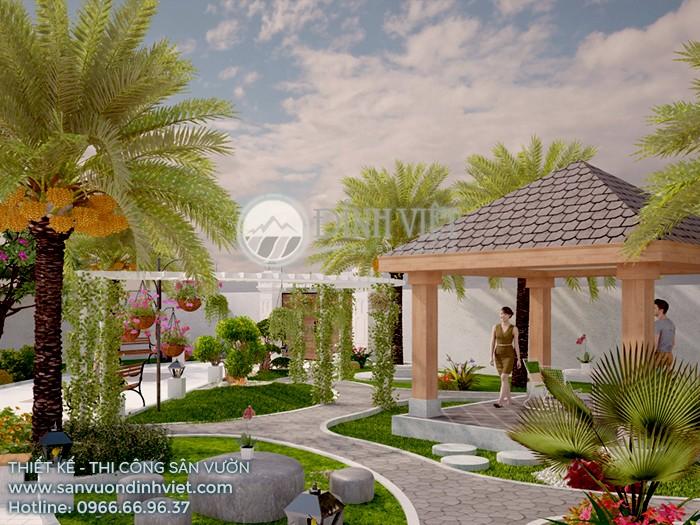 #1 Thiết Kế Sân Vườn Đẹp - Thi Công Trọn Gói | Sân Vườn Đỉnh Việt