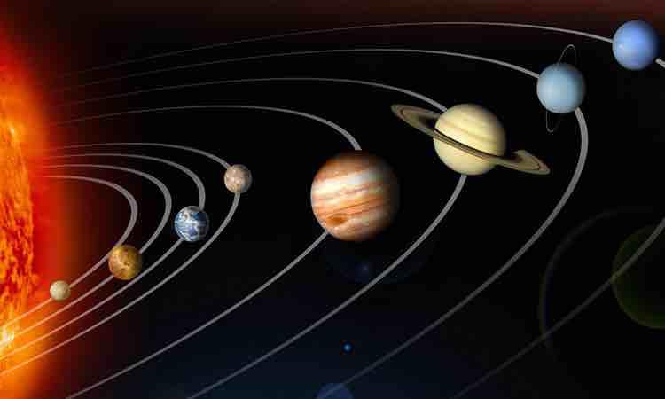 Các hành tinh trong hệ Mặt Trời thẳng hàng khi nào? - VnExpress
