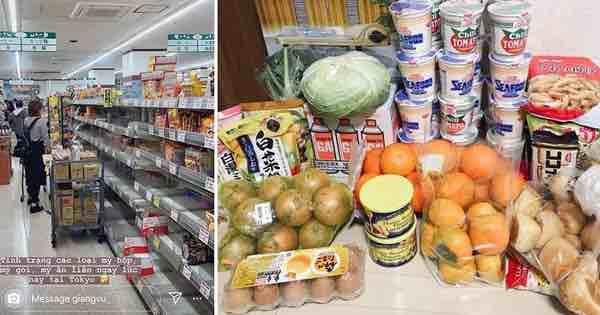 Siêu bão Hagibis quét qua Nhật: chưa bao giờ các siêu thị rơi vào tình trạng 'cháy hàng' đến vậy, ai tích trữ được gì là tích trữ