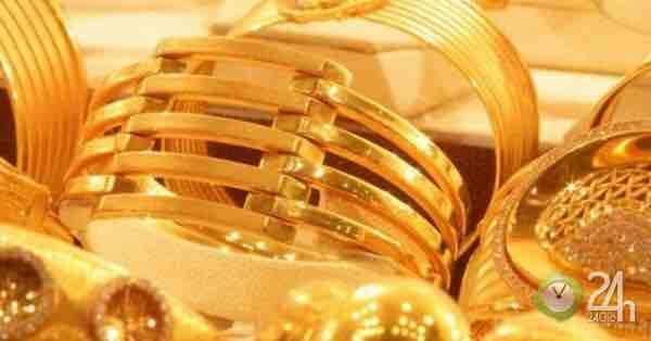 Giá vàng hôm nay 14/10: Tin tốt vẫn không vực nổi giá vàng