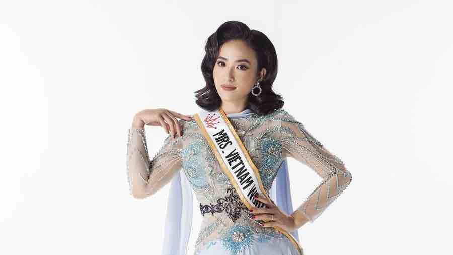 Lê Vũ Hoàng Hạt tiếp bước Dương Thùy Linh chinh chiến tại 'Mrs Worldwide 2019'