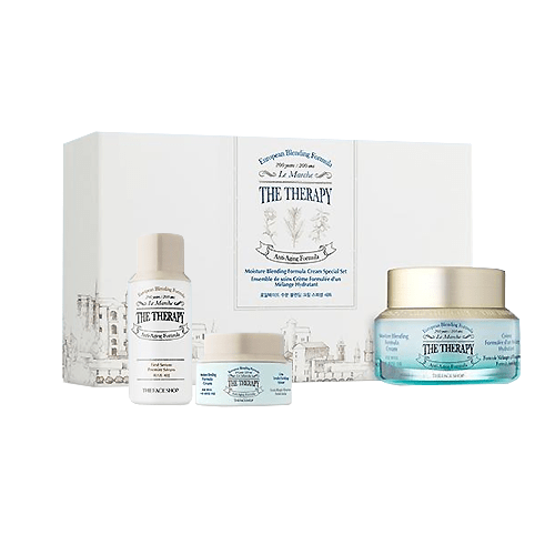 Bộ Kem Chống Lão Hóa THE THERAPY ROYAL MADE MOISTURE BLENDING CREAM SET (3items)