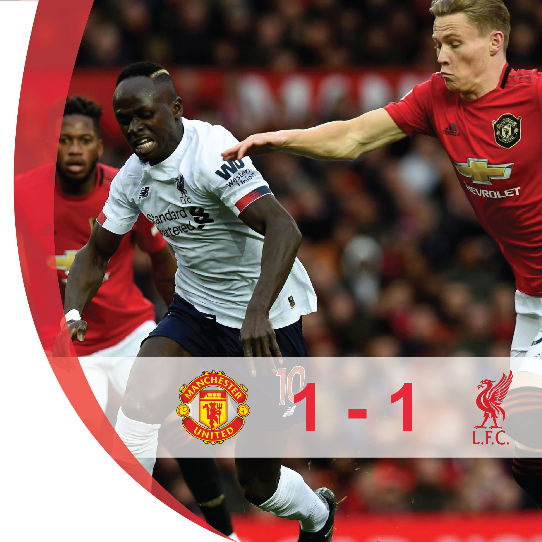 M.U 1-1 Liverpool: Méo mặt vì VAR, Liverpool đứt mạch chiến thắng