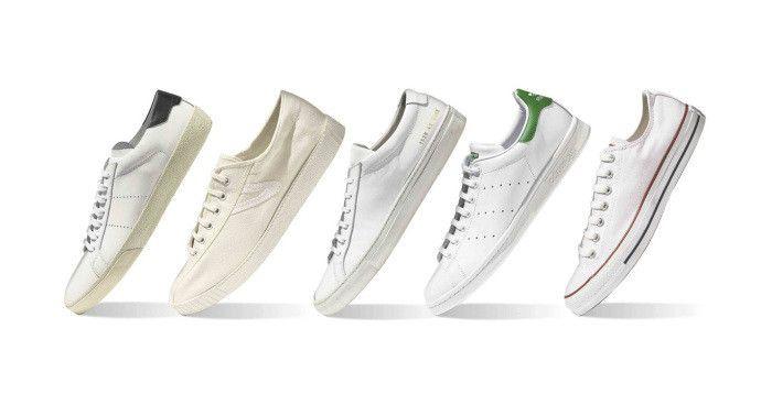Các mẫu giày sneaker nữ trắng giúp phối đồ đẹp như fashionista