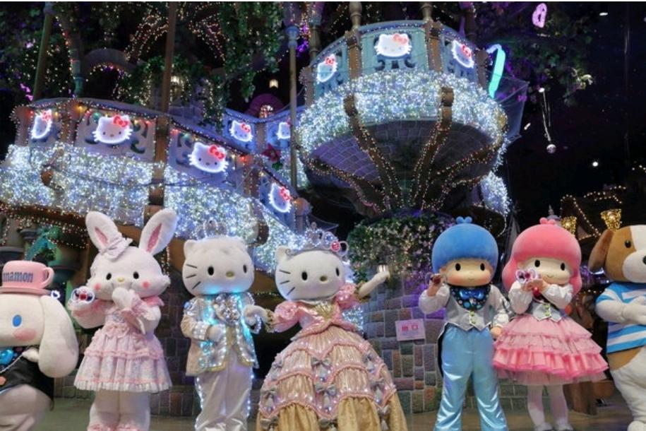 Thiên đường mèo Hello Kitty tại Nhật