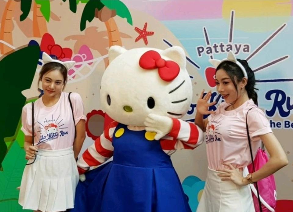 Hello Kitty Fun Run on Pattaya Beach Nov. 16 - Pattaya Mail