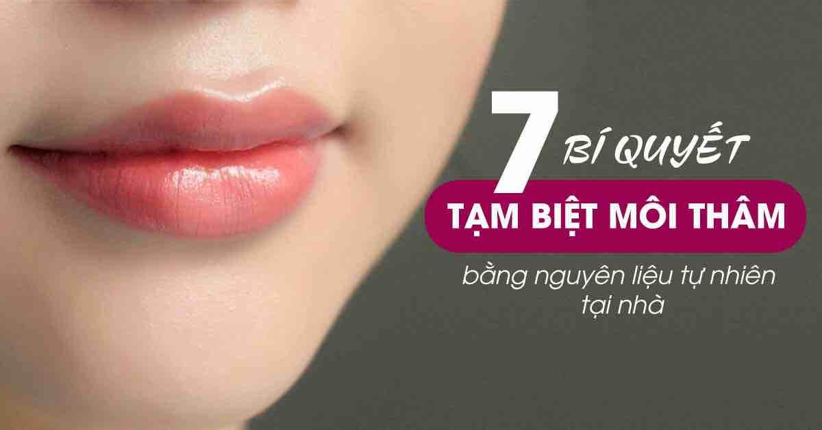 Không cần phun môi, đây là 7 cách giúp bạn lấy lại đôi môi hồng hào, tạm biệt môi thâm kém sắc - VOH