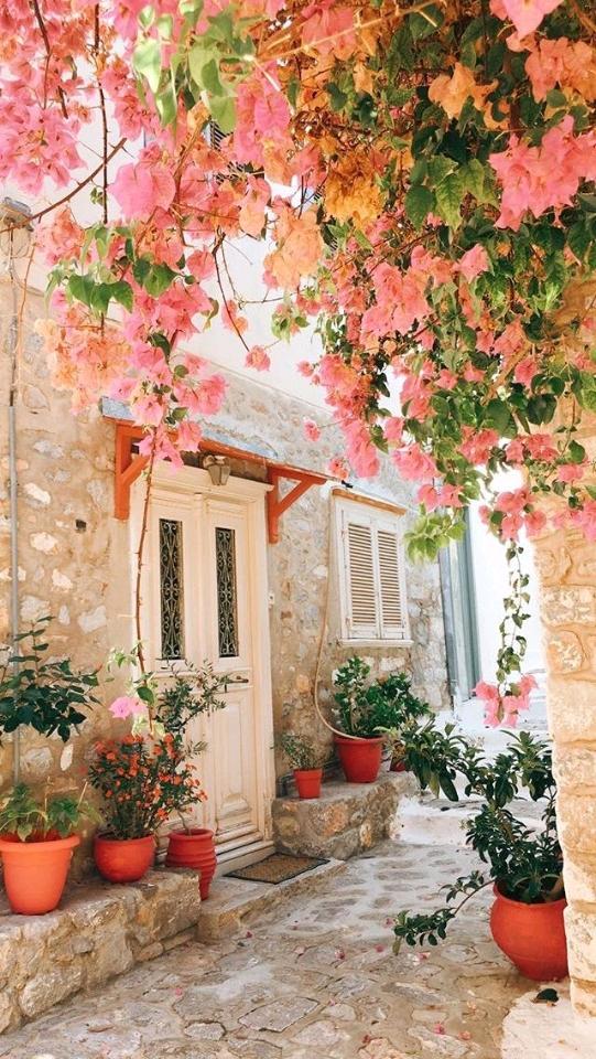 Ngất ngây với những ngôi nhà phủ đầy hoa như trong chuyện cổ tích. Nhà Đẹp Vườn Xinh
