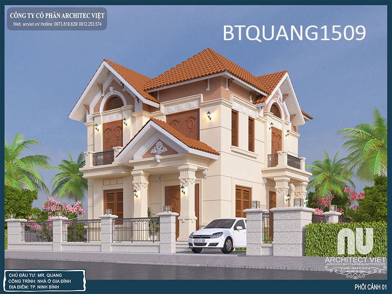 Công ty thiết kế biệt thự tại Hà Nội uy tín đặt lên hàng đầu