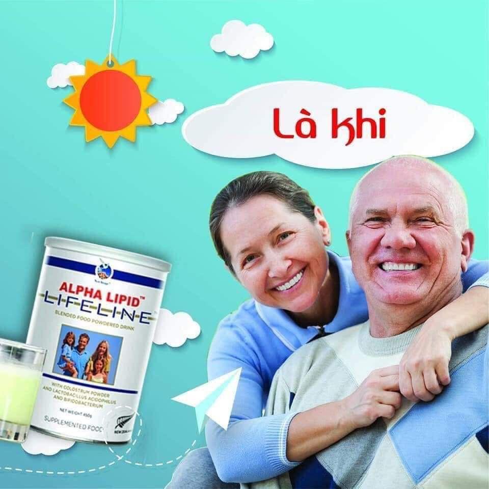 Sữa non Alpha lipid sử dụng như thế nào ?