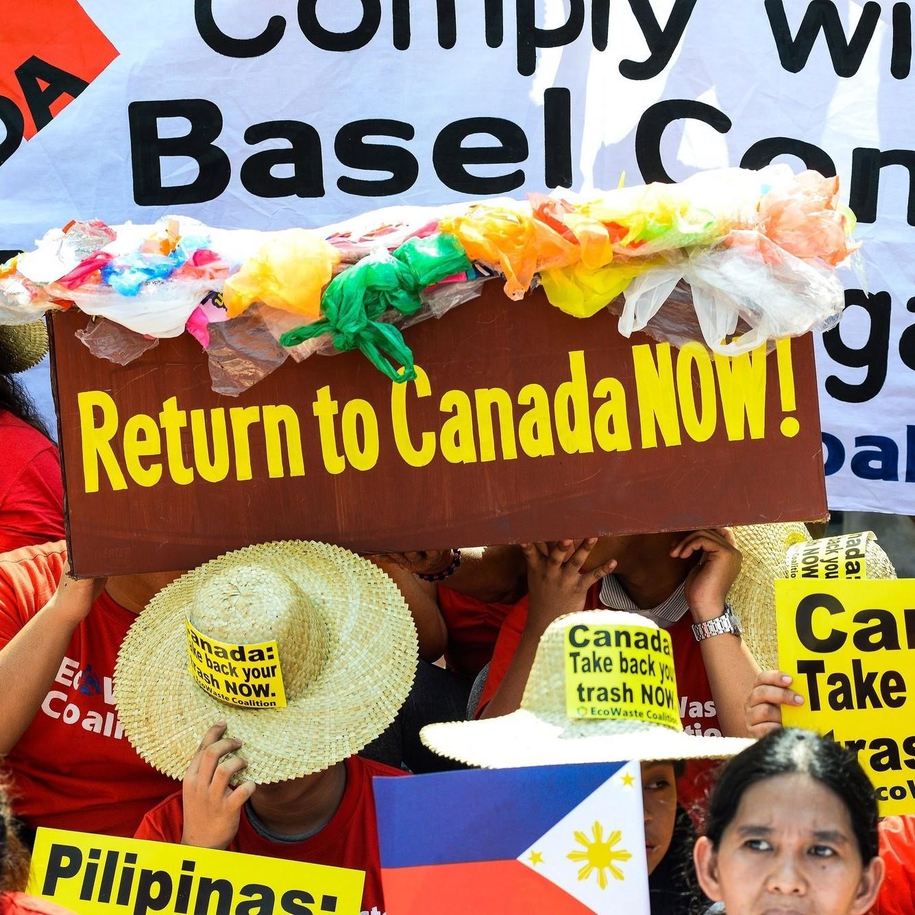 Vấn đề rác thải giữa Canada và  Philippines