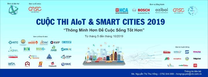 CUỘC THI AIOT & SMARTCITIES TOÀN QUỐC NĂM 2019