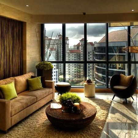 Thiết kế nội thất phòng khách nhà ống theo phòng cách cổđiển