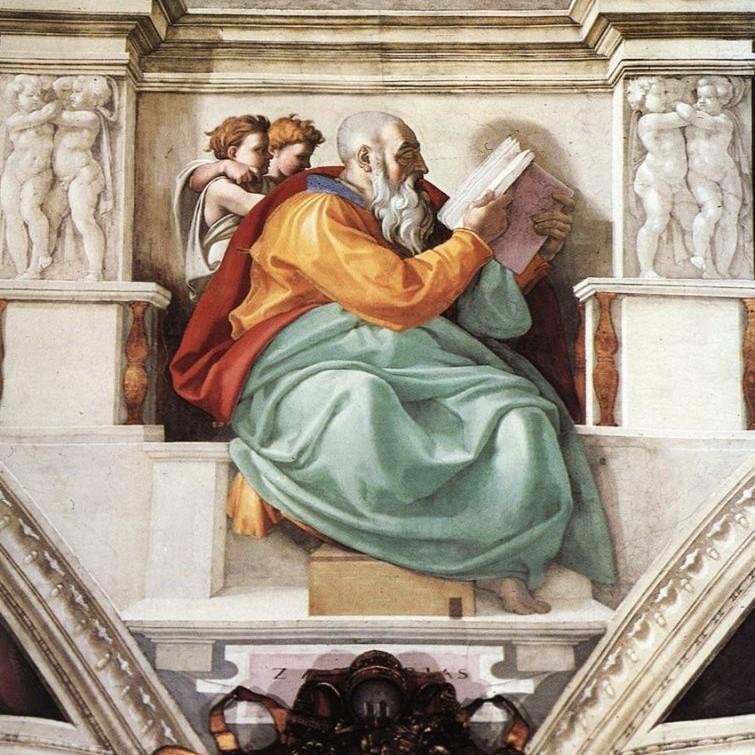 Bí mật số5: Giơ ngón tay trước Giáo hoàng của Michelangelo.