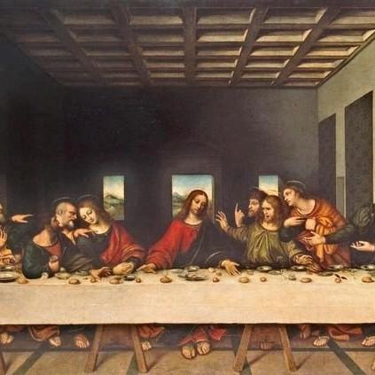"""Bí mật số 2: """"Bữa tối cuối cùng"""" của Leonardo da Vinci."""