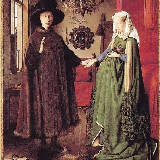 """Bí mật số 3: Bức tranh """"Hôn lễ của Arnolfini"""""""