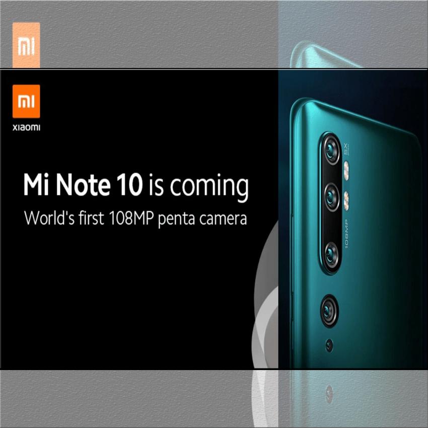 Xiaomi Mi Note 10 sở hữu hệ thống 5 camera sau 108MP chính thức trình làng