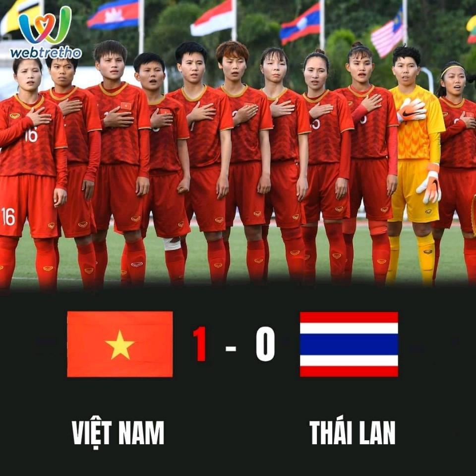 Thắng rồi!!!! Huy chương Vàng rồiiiiiiiiii 😍 Tự hào quá phụ nữ Việt Nam ơiiii 😘😘😘