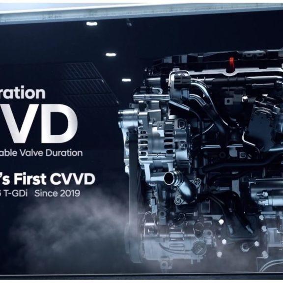 Hyundai giới thiệu thế hệ động cơ hoàn toàn mới được áp dụng công nghệ CVVD