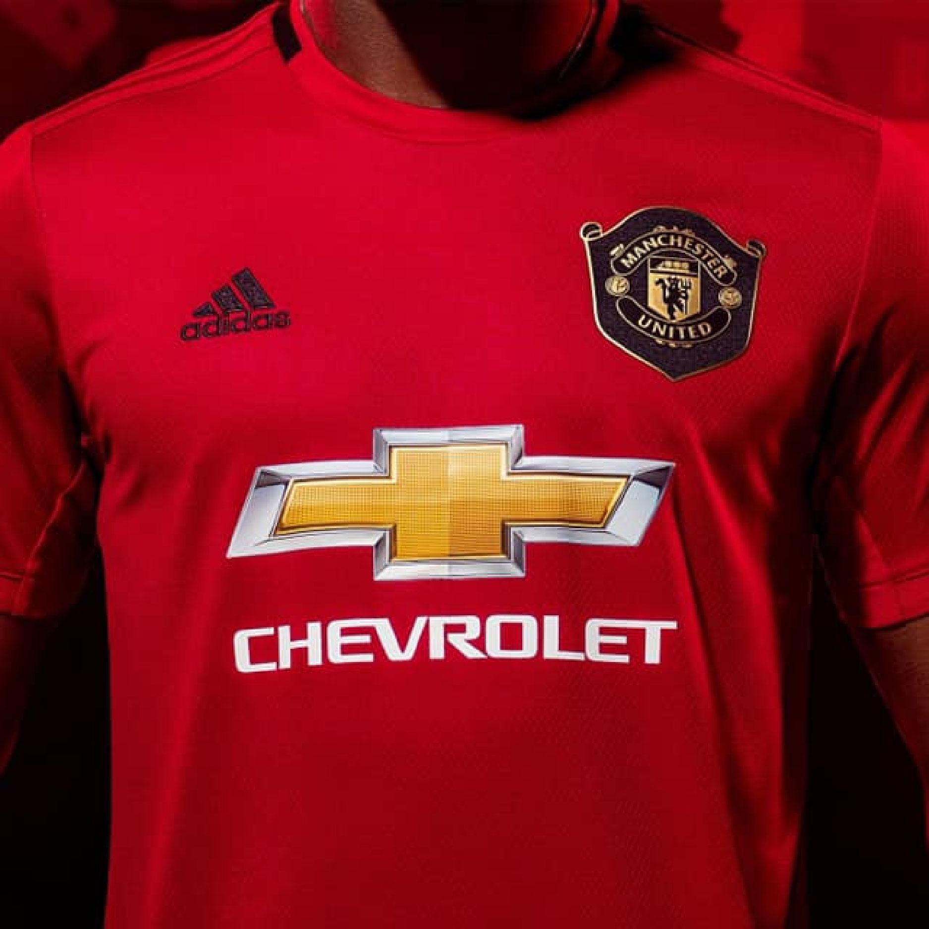 Adidas giới thiệu mẫu áo sân nhà Manchester United mùa giải