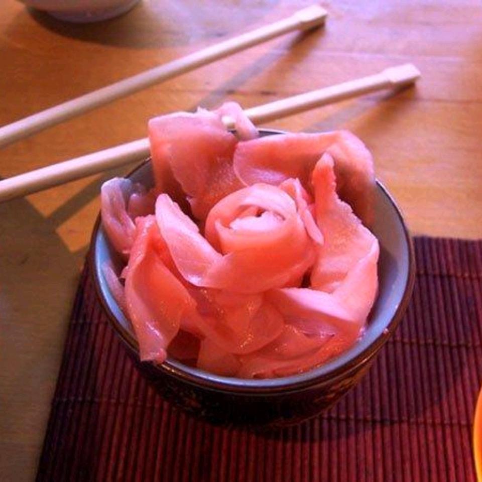 Gừng hồng Gari và lý do tại sao người Nhật hay ăn?