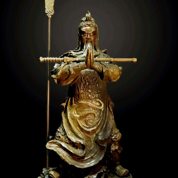 Tượng ngài Quan Thánh Đế Quân lớn nhất thế giới