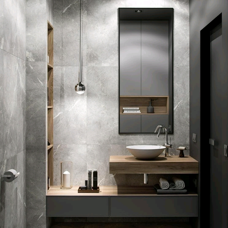 Xu hướng thiết kế nội thất phòng tắm, phòng vệ sinh hiện đại năm 2019.