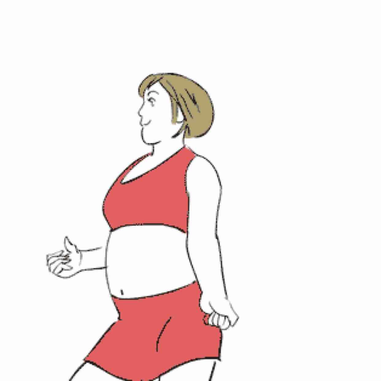 Khi cân nặng tăng lên và trở thành vấn đề