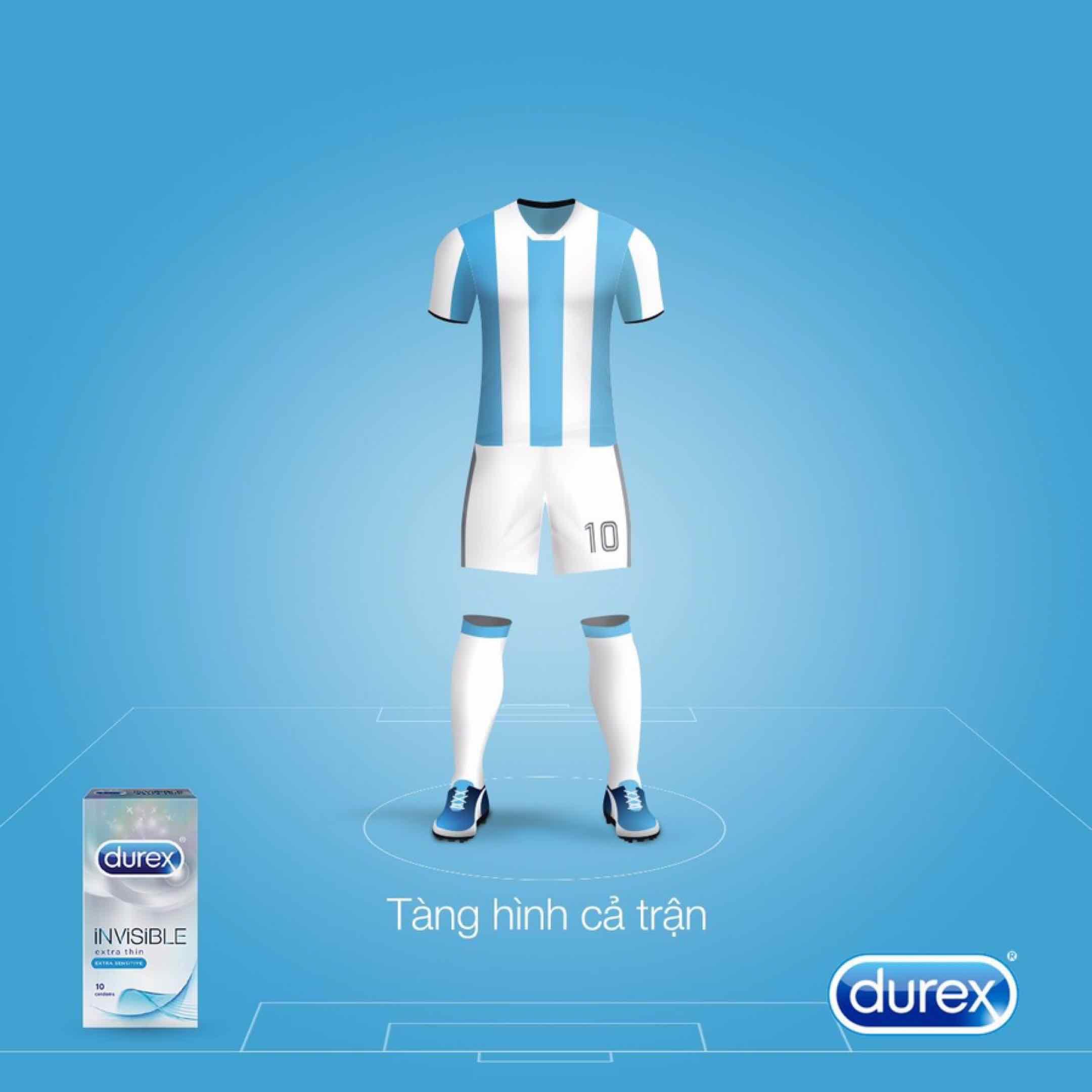 Durex - Đại sứ thương hiệu