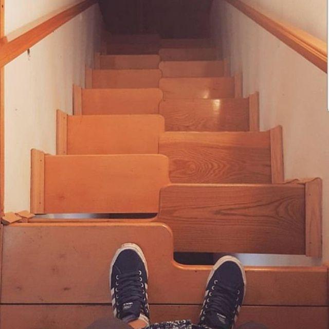 Cầu thang xen kẻ