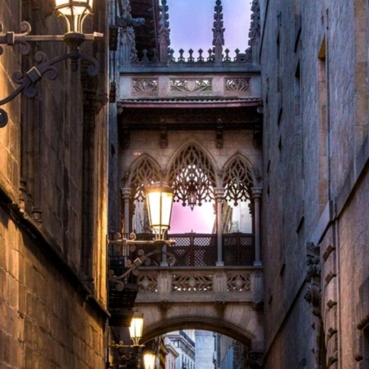 Barcelona Gothic Quarter.