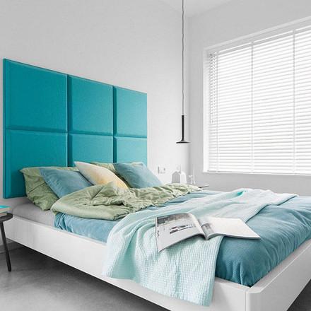 Tạo điểm nhấn cho mảng tường đầu giường