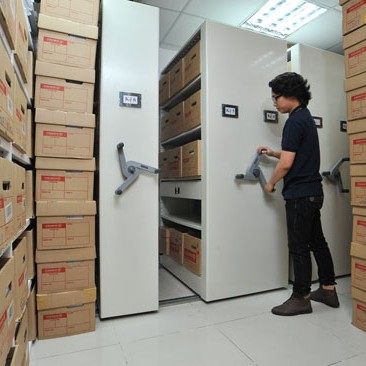 Kho lưu trữ hiện đại của SÀI GÒN BPO